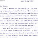 1922-76 Miscellaneous correspondence with museums DIST.41.24