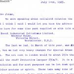 1922-76 Miscellaneous correspondence with museums DIST.41.25a