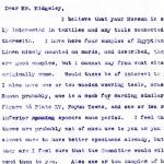1922-76 Miscellaneous correspondence with museums DIST.41.39a