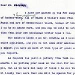 1922-76 Miscellaneous correspondence with museums DIST.41.41