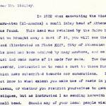 1922-76 Miscellaneous correspondence with museums DIST.41.43