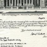 1922-76 Miscellaneous correspondence with museums DIST.41.59