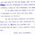1922-76 Miscellaneous correspondence with museums DIST.41.78b