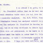 1922-76 Miscellaneous correspondence with museums DIST.41.79