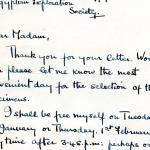 1922-71 Miscellaneous correspondence with museums DIST.42.04
