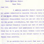 1922-71 Miscellaneous correspondence with museums DIST.42.19