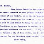 1922-71 Miscellaneous correspondence with museums DIST.42.39