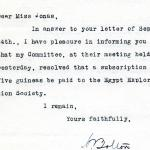 1922-71 Miscellaneous correspondence with museums DIST.42.40