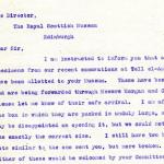 1922-71 Miscellaneous correspondence with museums DIST.42.66a