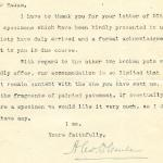 1922-71 Miscellaneous correspondence with museums DIST.42.68