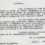 1926-39 correspondence with Antiquities Service DIST.50.35