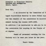 1926-39 correspondence with Antiquities Service DIST.50.36