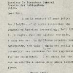 1926-39 correspondence with Antiquities Service DIST.50.42