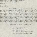 1926-39 correspondence with Antiquities Service DIST.50.49