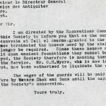 1926-39 correspondence with Antiquities Service DIST.50.50