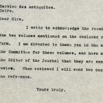 1926-39 correspondence with Antiquities Service DIST.50.55