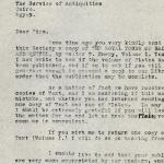 1926-39 correspondence with Antiquities Service DIST.50.56