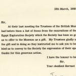 post-1938 el-Amarna, 1939-50 Armant, 1957 Oxyrhynchus, 1969-75 Saqqara DIST.65.42