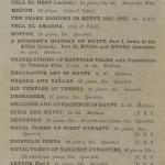 1903-04 Abydos, Ihnasya, Tell el-Fara'in, Saqqara, Gurob, Deir el-Bahri, Oxyrhynchus Exhibition Catalogue PMA/WFP1/D/12/12.29