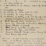 1903-04 Abydos, Ihnasya, Tell el-Fara'in, Saqqara, Gurob, Deir el-Bahri, Oxyrhynchus Correspondence PMA/WFP1/D/12/6.1