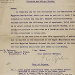 1903-04 Abydos, Ihnasya, Tell el-Fara'in, Saqqara, Gurob, Deir el-Bahri, Oxyrhynchus Correspondence PMA/WFP1/D/12/7.1