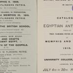 1909-10 Meidum, Memphis Exhibition catalogue PMA/WFP1/D/18/15.2