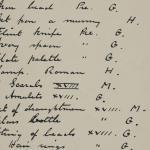 1910-11 Hawara, Gerzeh, Memphis, Mazghuneh Individual institution list  PMA/WFP1/D/19/25