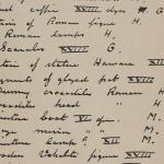 1910-11 Hawara, Gerzeh, Memphis, Mazghuneh Individual institution list  PMA/WFP1/D/19/26