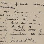 1910-11 Hawara, Gerzeh, Memphis, Mazghuneh Individual institution list  PMA/WFP1/D/19/30.1