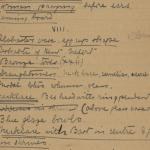1910-11 Hawara, Gerzeh, Memphis, Mazghuneh Correspondence PMA/WFP1/D/19/36.3