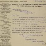 1913-14 Lahun, Haraga Correspondence PMA/WFP1/D/22/10.2