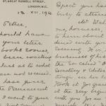 1913-14 Lahun, Haraga Correspondence PMA/WFP1/D/22/15.2