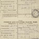 1913-14 Lahun, Haraga Mailing label PMA/WFP1/D/22/50.6