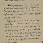 1913-14 Lahun, Haraga Correspondence PMA/WFP1/D/22/51.1