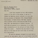 1913-14 Lahun, Haraga Correspondence PMA/WFP1/D/22/62.1