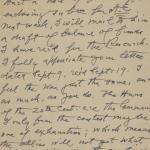 1913-14 Lahun, Haraga Correspondence PMA/WFP1/D/22/65.1