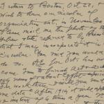 1913-14 Lahun, Haraga Correspondence PMA/WFP1/D/22/65.2
