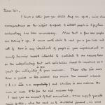 1919-21 Sedment, Lahun Correspondence PMA/WFP1/D/24/50
