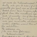 1919-21 Sedment, Lahun Correspondence PMA/WFP1/D/24/53.2