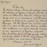 1919-21 Sedment, Lahun Correspondence PMA/WFP1/D/24/56