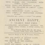 1921-22 Abydos, Oxyrhynchus Exhibition catalogue PMA/WFP1/D/25/19.7