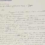 1922-23 Qau el-Kebir Correspondence PMA/WFP1/D/26/45