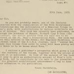 1922-23 Qau el-Kebir Correspondence PMA/WFP1/D/26/4.2