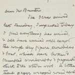 1923-24 Qau el-Kebir, Hemamieh Correspondence PMA/WFP1/D/27/41.1