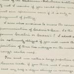 1923-24 Qau el-Kebir, Hemamieh Correspondence PMA/WFP1/D/27/47.2