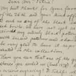 Naqada 1894-1895, Correspondence, PMA/WFP1/D/3/4.1