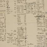 1899-1900 Abydos Object list PMA/WFP1/D/8/16.2