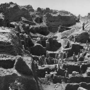 BSAE excavations at Memphis 1908.