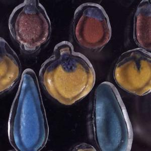Beads from Amarna excavated in 1891 now in the Petrie Museum (UC1957)