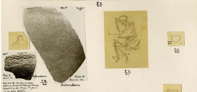 Records of finds from excavations at Faras, Nubia